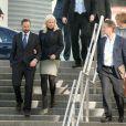 La princesse Mette-Marit de Norvège participait avec son mari le prince Haakon à la  VelFERDkonferansen 2013 , à Oslo, le 25 février 2013.