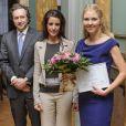 La princesse Marie de Danemark lors de la remise des Prix L'Oréal pour les femmes en sciences le 31 janvier 2013 à Copenhague