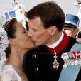 Image du mariage du prince Joachim et de la princesse Marie de Danemark, le 24 mai 2008.