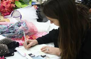 Défilé Etam : Une lingerie colorée et une Natalia Vodianova couture !