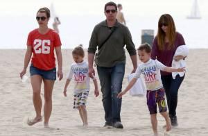 Britney Spears, maman radieuse et ensablée : Virée ensoleillée avec ses 2 amours