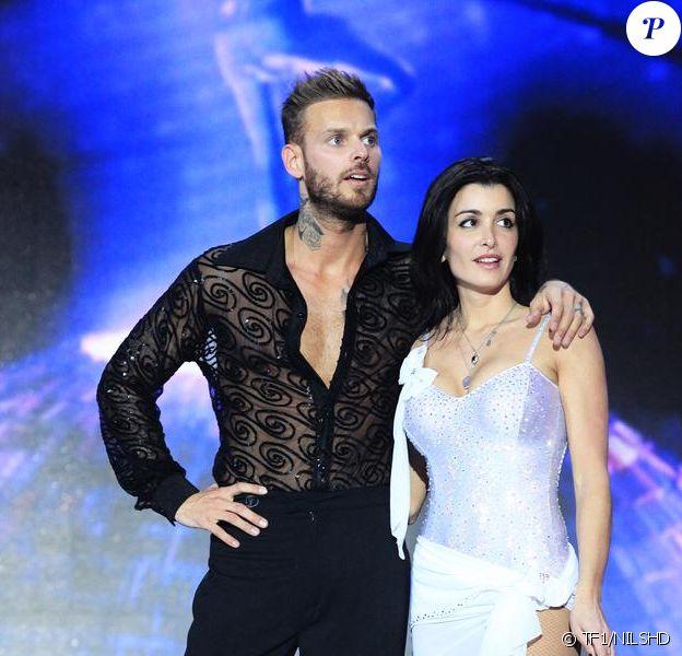 M. Pokora et Jenifer dans le spectacle des Enfoirés 2013