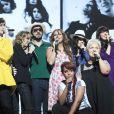 La troupe des Enfoirés dans le spectacle des Enfoirés 2013