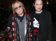 Izïa Higelin et Christophe bien accompagné, amateurs de mode chez Castelbajac