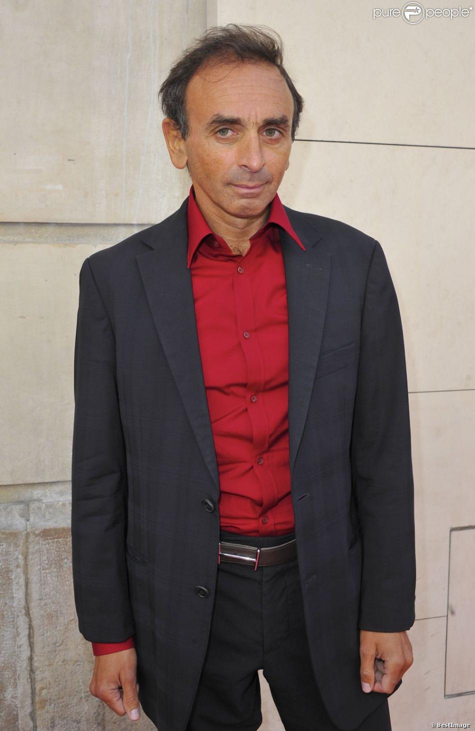 Eric Zemmour à Paris le 6 septembre 2012.