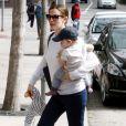 La jolie Jennifer Garner et son fils Samuel le 5 mars 2013 à Los Angeles