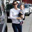 Jennifer Garner et son garçon Samuel le 5 mars 2013 à Los Angeles