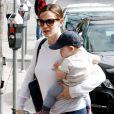 Jennifer Garner et son fils Samuel le 5 mars 2013 à Los Angeles
