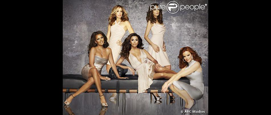 Le casting de la série  Desperate Housewives .