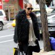 Nicole Richie dans les rues de New York le 7 mars 2013