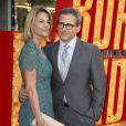 Steve Carell et sa femme Nancy Carell lors de la première du film The Incredible Burt Wonderstone au TCL Chinese Theatre à Hollywood, le 11 mars 2013.