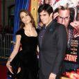 David Copperfield et Chloé Gosselin lors de la première du film The Incredible Burt Wonderstone au TCL Chinese Theatre à Hollywood, le 11 mars 2013.