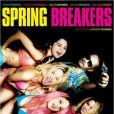 Affiche officielle et originale du film Spring Breakers