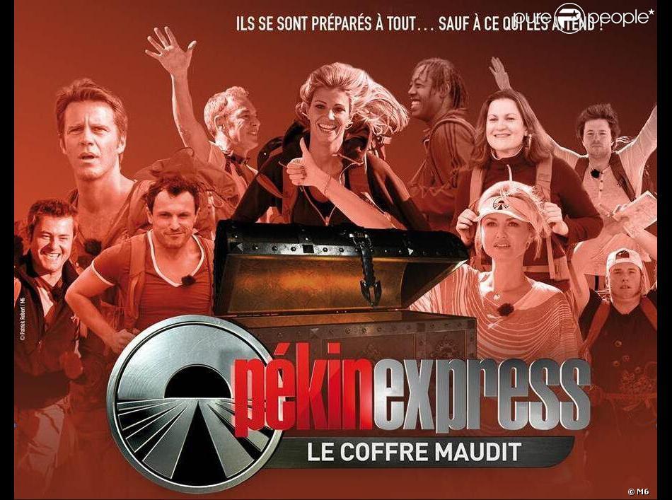"""Les candidats de Pékin Express 2013, """"le coffre maudit""""."""
