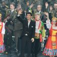 Exclusif - Vincent Niclo en concert, du 8 au 10 mars, avec les choeurs de l'Armée Rouge au Palais des Congrés à Paris, le 8 mars 2013.