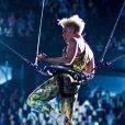 Pink lors de son concert donné à Montréal dans le cadre de sa tournée 'Truth About Love', le 12 mars 2013.