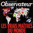 """""""Le nouvel Observateur"""" en kiosques le 14 mars 2013."""