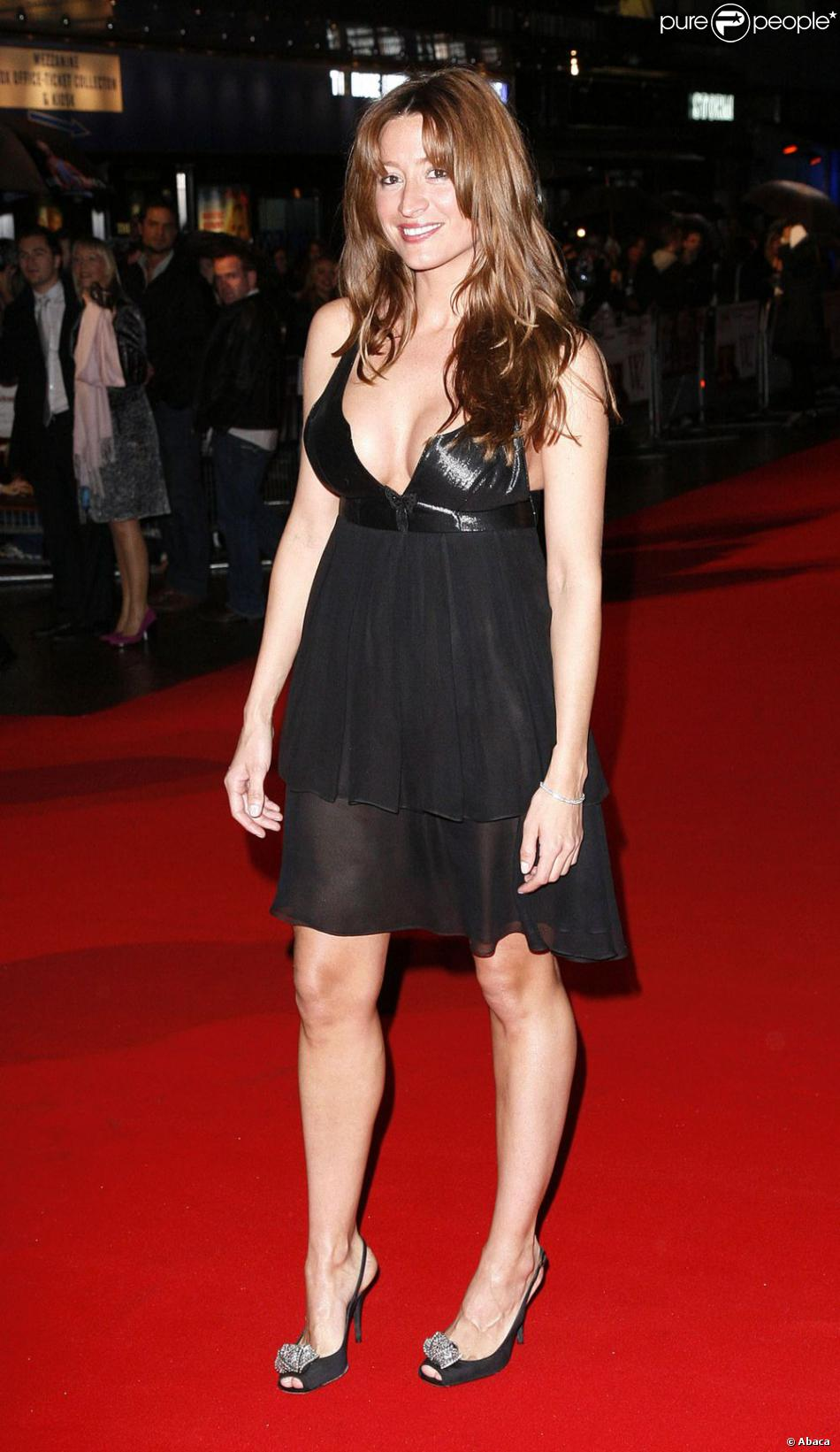 Rebecca Loos lors du Times BFI London Film Festival de 2008 à l'Odeon West End de Londres le 23 octobre 2008