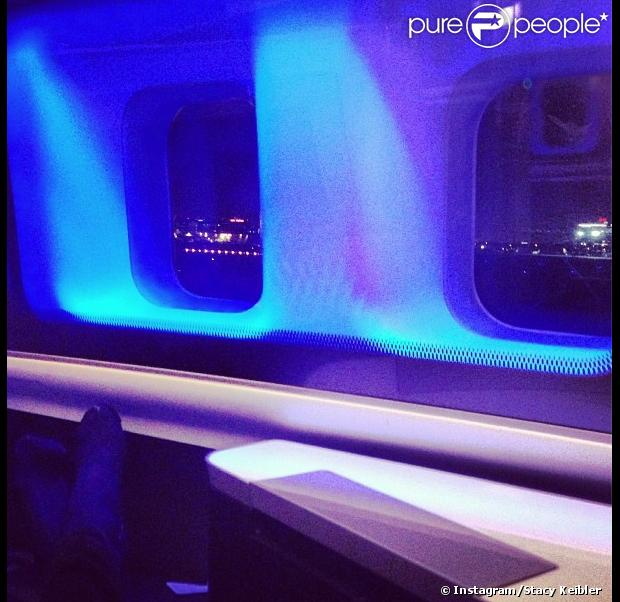 Une photo de l 39 int rieur d 39 un avion prise par stacy for L interieur d un avion