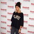 Alexandra Rosenfeld lors d'unévénement organisé par Reebok au Pure Club Med Gym de Bastille à Paris le 19 mars 2013