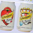 Les nouvelles cannettes Schweppes Zero imaginées parDaphné Bürki et Gunther Love