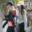 Ashley Tisdale et Vanessa Hudgens vont faire de la gym ensemble à West Hollywood, le 19 mars 2013.