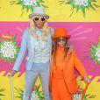 Kesha et son petit-frère lors de la 26ème édition des Kids' Choice Awards, le samedi 23 mars à Los Angeles.