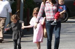 Jennifer Garner: Aux petits soins pour ses enfants avant une soirée entre filles