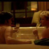 Michael Douglas et Matt Damon : Amoureux dans un bain pour Behind The Candelabra