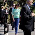 Malia Obama pour la traditionnelle chasse aux oeufs de la Maison Blanche, le 1er avril 2013.