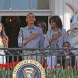 Jessica Sanchez chante pour la traditionnelle chasse aux oeufs de la Maison Blanche, le 1er avril 2013.
