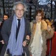 Olivier et Christine Orban lors de l'avant-première du film Des gens qui s'embrassent le 1er avril 2013 à Paris