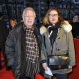 Bernard Murat et sa femme Zana lors de l'avant-première du film Des gens qui s'embrassent le 1er avril 2013 à Paris