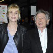 Emmanuelle Seigner et Roman Polanski sont ''Des gens qui s'embrassent''