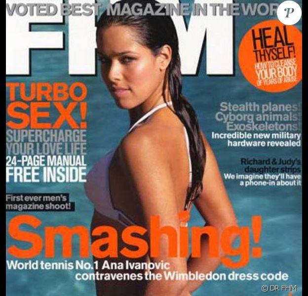 Ana Ivanovic pour FHM