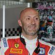 Fabien Barthez pilotait une Ferrari lors de la Coupe de Pâques sur le circuit de Nogaro les 30, 31 Mars et 1er Avril 2013.