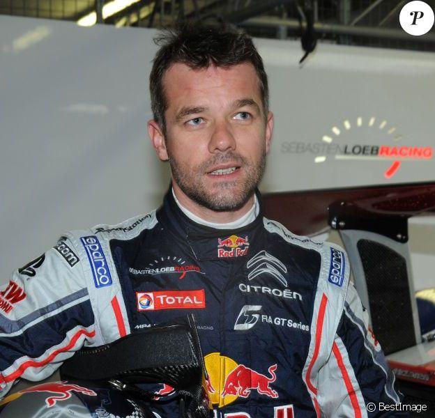Le pilote Sébastien Loeb lors de la Coupe de Pâques sur le circuit de Nogaro les 30, 31 Mars et 1er Avril 2013.
