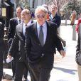 Harrison Ford à la sortie de la Maison Blanche à Washington, le 2 avril 2013.