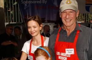 Harrison Ford et Calista Flochkart se mobilisent pour la bonne cause
