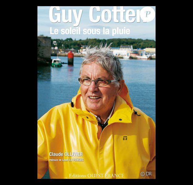"""Couverture du livre """"Guy Cotten, le soleil sous la pluie"""", paru en 2011 et retraçant la brillante carrière de Guy Cotten."""
