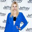 Le modèle androgyne Andrej Pejic à la soirée de charité Jeffrey Fashion Cares à New York City, le 2 avril 2013.