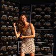 Gisele Bündchen fait la promotion de la nouvelle collection de la marque de shampooing Pantene Pro V à Sao Paulo, le 3 avril 2013.0