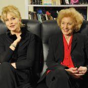 Fanny Ardant, devenue blonde, et Marisa Paredes : Rencontre de deux icônes