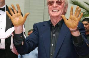 PHOTOS : Michael Caine, ses empreintes sur Hollywood Boulevard !