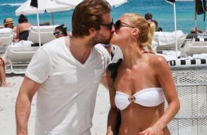 Michelle Hunziker : Enceinte de son fiancé Tomaso Trussardi... pour de bon !