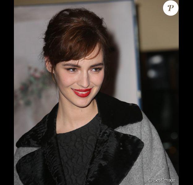 """Louise Bourgoin à l'avant-première de """"La religieuse"""", le 12 mars 2013."""