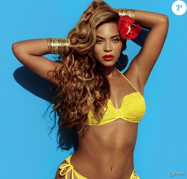 Beyoncé Knowles pose pour la collection été de la marque H&M