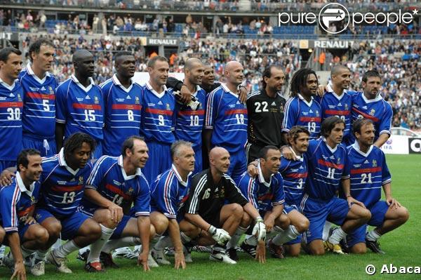 L 39 quipe de france gagnante de la coupe du monde 1998 - Coupe de france l equipe ...