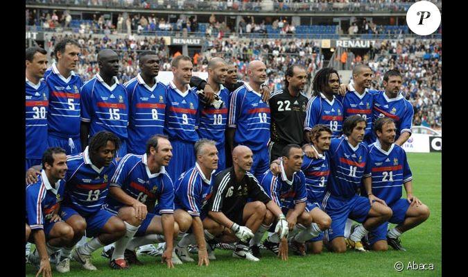 L 39 quipe de france gagnante de la coupe du monde 1998 - Coupe du monde 1998 chanson ...