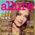 Amanda Seyfried en couverture du magazine Allure, édition du mois de mai 2013.